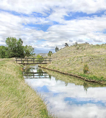 Photograph - Ruby River Canal Bridge Montana 2 by Jennie Marie Schell