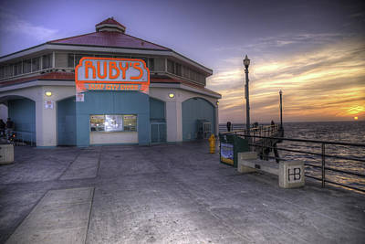 Photograph - Ruby's At Sunset by Spencer McDonald