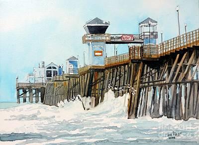 Ruby's Oceanside Pier Art Print