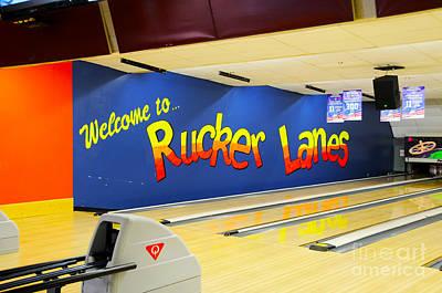 Rucker Lanes Art Print