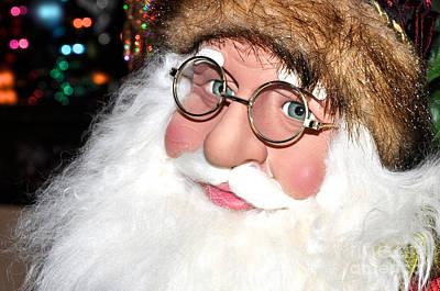 Photograph - Ruddy Santa by Vinnie Oakes