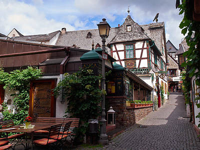 Jouko Lehto Royalty-Free and Rights-Managed Images - Rudesheim by Jouko Lehto