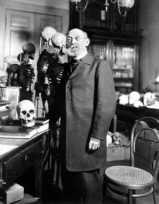 Anatomist Photograph - Rudolf Virchow by National Library Of Medicine