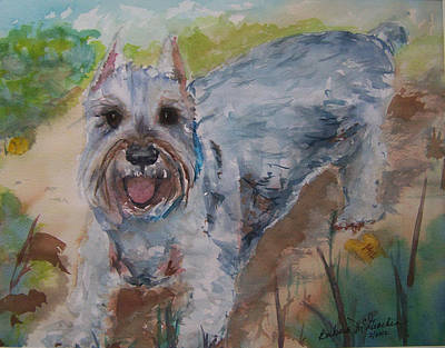 Painting - Rudy by Barbara McGeachen