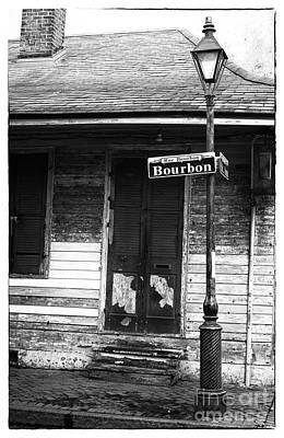 Photograph - Rue Bourbon by John Rizzuto