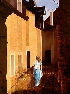 Rue De L'art Art Print by Laurend Doumba