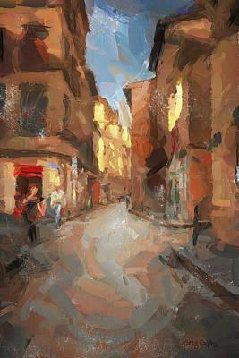 Digital Art - Rue Du Doyenne by Greg Collins