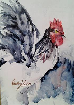 Painting - Ruffled Feathers by Paula Day