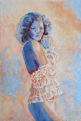 Painting - Ruffles by Maris Sherwood