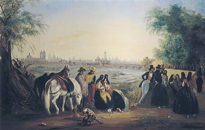 Del Rio Photograph - Rugendas, Johann Moritz 1802-1858 by Everett