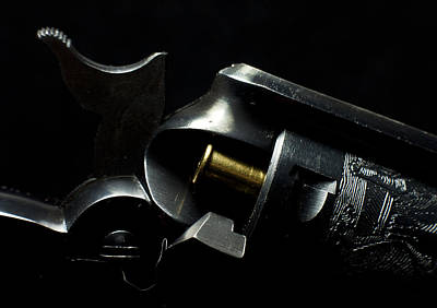 Photograph - Ruger Revolver by Ron Roberts