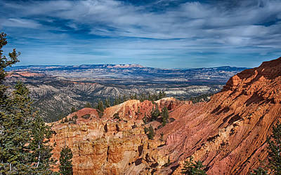Photograph - Rugged Bryce Canyon by John M Bailey