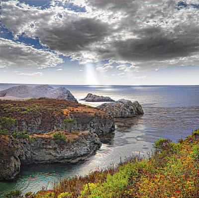 Photograph - Rugged California Coastline by Douglas Pulsipher