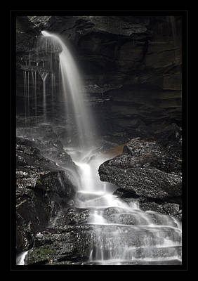 Photograph - Rugged Canyon Waterfall by John Stephens