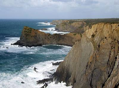 Photograph - Rugged Coastline by Paula Guy