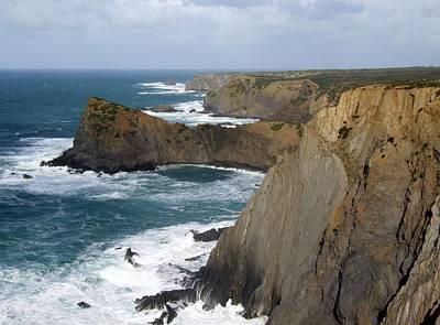 Photograph - Rugged Coastline by Paula Guy