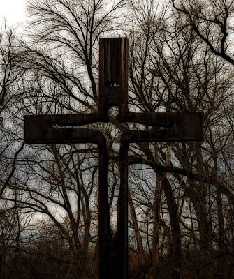 Photograph - Rugged Cross by Cathy Shiflett