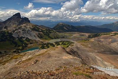 Photograph - Rugged Garibaldi Landscape by Adam Jewell