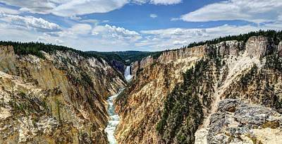 Photograph - Rugged Lower Yellowstone by John Kelly