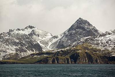 Drake Photograph - Rugged Mountainous Scenery by Ashley Cooper
