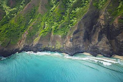 Rugged Na Pali Coast Art Print