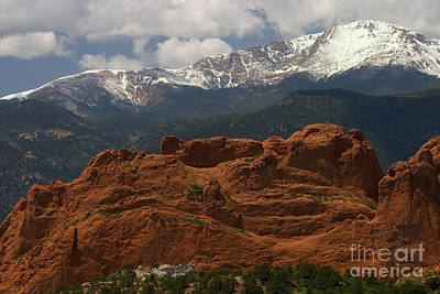 Steven Krull Royalty-Free and Rights-Managed Images - Rugged Red by Steven Krull