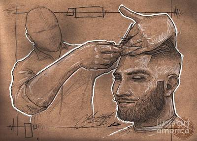 Drawings Royalty Free Images - Rugged Shears Royalty-Free Image by Shop Aethetiks
