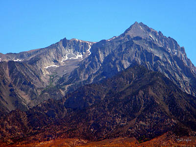 Photograph - Rugged Sierra Peaks by Frank Wilson