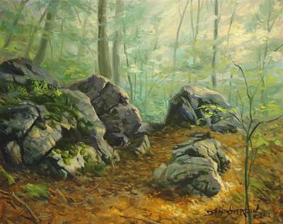 Rugged Trail Original by David Henderson