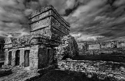 Cancun Photograph - Ruin by Julian Cook
