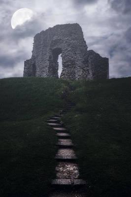 Creepy Photograph - Ruin Of Castle by Joana Kruse