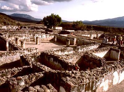 Photograph - Ruinas Tepozteco by Robert  Rodvik
