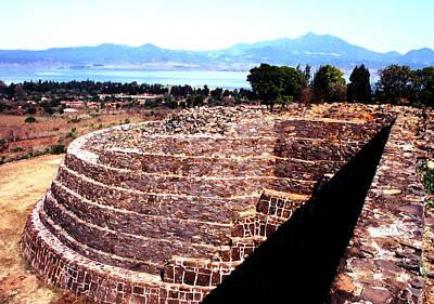 Photograph - Ruinas Yacatas Pyramid by Robert  Rodvik