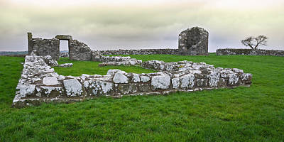 Photograph - Ruined Church At Nendrum Monastic Site by Jane McIlroy