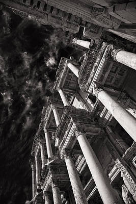 Photograph - Ruined Perspective by Brad Brizek