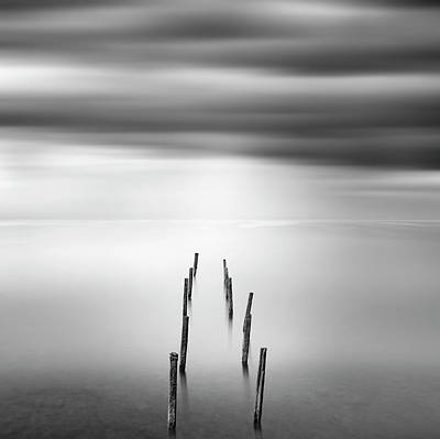 Minimal Photograph - Ruined Pier 05 by George Digalakis