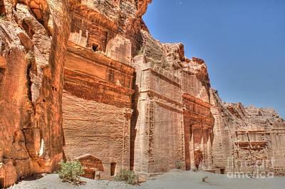 Photograph - Ruins At Petra by David Birchall