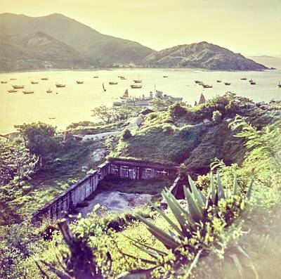 Landscape Photograph - Ruins By A Harbor In Macau by Nick De Morgoli