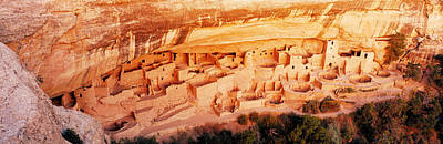 Mesa Verde Photograph - Ruins, Cliff Palace, Mesa Verde by Panoramic Images