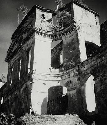 Greater Antilles Photograph - Ruins In Haiti by Cecil Beaton