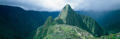 Ancient Ruins Photograph - Ruins, Machu Picchu, Peru by Panoramic Images