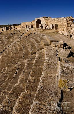 Ruins Of 2nd Century Roman Theater Art Print