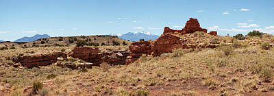 Flagstaff Wall Art - Photograph - Ruins Of A Building, Lomaki Pueblo by Panoramic Images