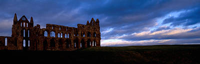 Whitby Abbey Photograph - Ruins Of A Church, Whitby Abbey by Panoramic Images