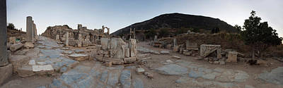 Ancient Civilization Photograph - Ruins Of A Temple, Temple Of Domitian by Panoramic Images