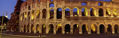 Rome Photograph - Ruins Of An Amphitheater, Coliseum by Panoramic Images