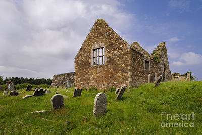 Photograph - Ruins Of Bonamargy Friary, Ireland by John Shaw