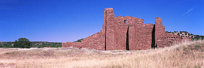 Ancient Civilization Photograph - Ruins Of Building, Salinas Pueblo by Panoramic Images