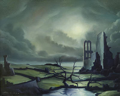 Ruins Of Cathedra Original by James Christopher Hill