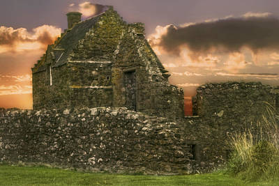 Scotland Photograph - Ruins Of Dunnottar Castle - Scotland - Stonehaven by Jason Politte